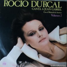 Discos de vinilo: ROCÍO DÚRCAL - VOL. 2 - CANTA A JUAN GABRIEL - EDICIÓN DE 1978 DE ESPAÑA. Lote 78269173