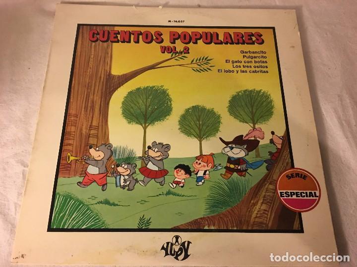 DISCO LP CUENTOS POPULARES (Música - Discos - LPs Vinilo - Música Infantil)