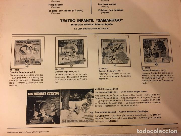Discos de vinilo: DISCO LP CUENTOS POPULARES - Foto 2 - 78280197