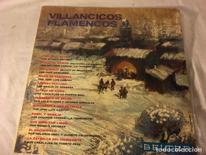 DISCO LP VILLANCICOS FLAMENCO FLAMENCOS (Música - Discos - LPs Vinilo - Música Infantil)
