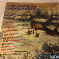 Discos de vinilo: DISCO LP VILLANCICOS FLAMENCO FLAMENCOS. Lote 78280269