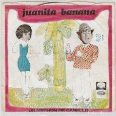Discos de vinilo: LUIS AGUILE / JUANITA BANANA / UN MECHON DE CABELLO (SINGLE 1966). Lote 78305205