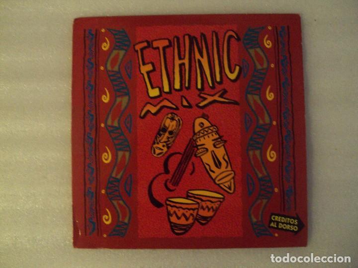 LOS CHUNGUITOS + AFRIKA BAMBAATAA, ETHNIC MIX, MAXI-SINGLE EDICION ESPAÑOLA 1991 EMI-ODEON (Música - Discos de Vinilo - Maxi Singles - Flamenco, Canción española y Cuplé)