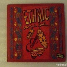 Discos de vinilo: LOS CHUNGUITOS + AFRIKA BAMBAATAA, ETHNIC MIX, MAXI-SINGLE EDICION ESPAÑOLA 1991 EMI-ODEON. Lote 78312241
