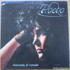 Discos de vinilo: RACHA - MARCANDO EL COMPAS - LP - 1993. Lote 71220837