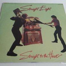 Discos de vinilo: VINILO/LP-STRAIGHT EIGHT/STRAIGHT TO THR HEART/HEAVY METAL.. Lote 78319037
