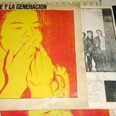 Discos de vinilo: CELESTE CARBALLO - CELESTE Y LA GENERACIÓN LP ROCK DE ARGENTINA 1985. Lote 78355979