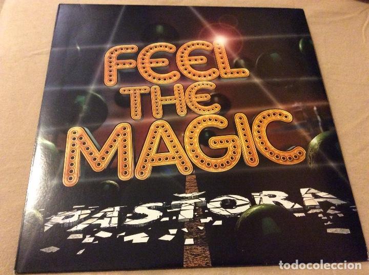 PASTORA. FEEL THE MAGIC. PROMOCIONAL. (Música - Discos de Vinilo - Maxi Singles - Electrónica, Avantgarde y Experimental)