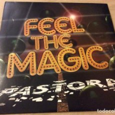 Discos de vinilo: PASTORA. FEEL THE MAGIC. PROMOCIONAL.. Lote 78357681