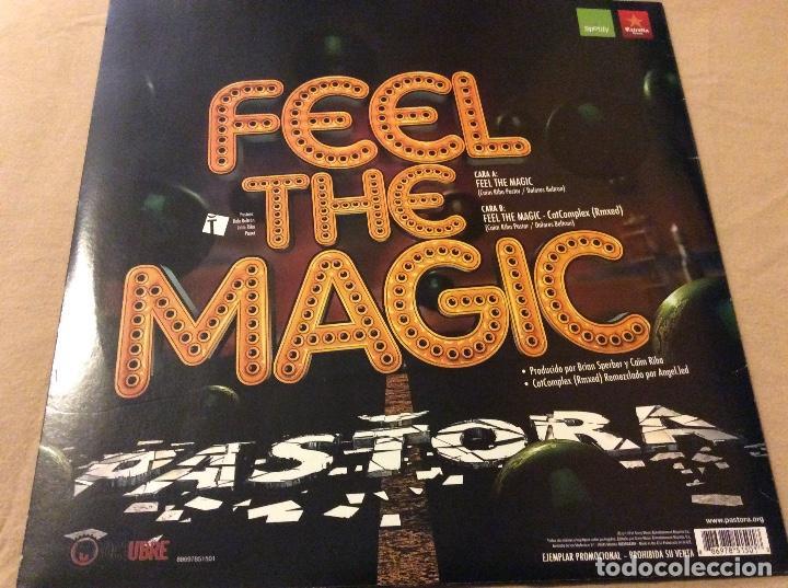 Discos de vinilo: Pastora. Feel The Magic. Promocional. - Foto 2 - 78357681