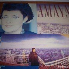 Discos de vinilo: LP DE AMAYA, SOBRE EL LATIDO DE LA CIUDAD. EDICION RCA DE 1988. COMO NUEVO. CON ENCARTE.. Lote 78358313