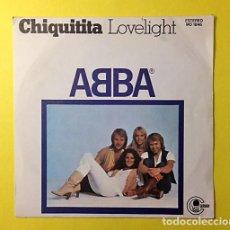 Discos de vinilo: ABBA - CHIQUITITA - DISCO SINGLE 1979. Lote 78375597