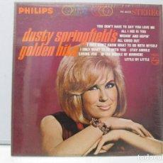 Discos de vinilo: DUSTY SPRINGFIELD´S GOLDEN HITS. DISCO DE VINILO. VER FOTOGRAFIAS ADJUNTAS. Lote 78385969