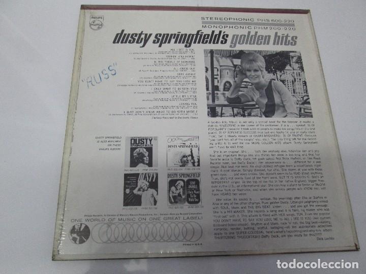 Discos de vinilo: DUSTY SPRINGFIELD´S GOLDEN HITS. DISCO DE VINILO. VER FOTOGRAFIAS ADJUNTAS - Foto 5 - 78385969