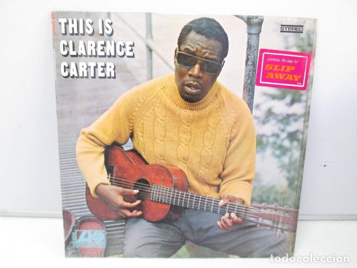 THIS IS CLARENCE CARTER. DISCO DE VINILO. ATLANTIC RECORDS. 1968. VER FOTOGRAFIAS ADJUNTAS (Música - Discos - Singles Vinilo - Jazz, Jazz-Rock, Blues y R&B)