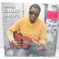 Discos de vinilo: THIS IS CLARENCE CARTER. DISCO DE VINILO. ATLANTIC RECORDS. 1968. VER FOTOGRAFIAS ADJUNTAS. Lote 78386357