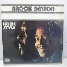 Discos de vinilo: BROOK BENTON. HOME STYLE. DISCO DE VINILO. VER FOTOGRAFIAS ADJUNTAS. Lote 78391041