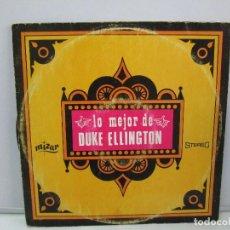 Discos de vinilo: LO MEJOR DE DUKE ELLINGTON. DISCO DE VINILO. MIZAR STEREO 1967. VER FOTOGRAFIAS ADJUNTAS. Lote 78391793
