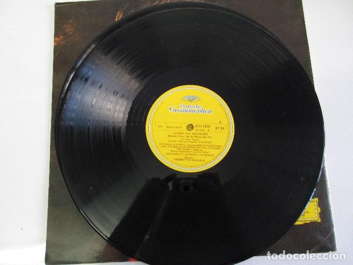 Discos de vinilo: ESPECIAL BICENTENARIO BEETHOVEN. ORQUEST FILARMONICA DE BERLIN.1970 DOS DISCOS DE VINILO.VER FOTOS. - Foto 8 - 78392225
