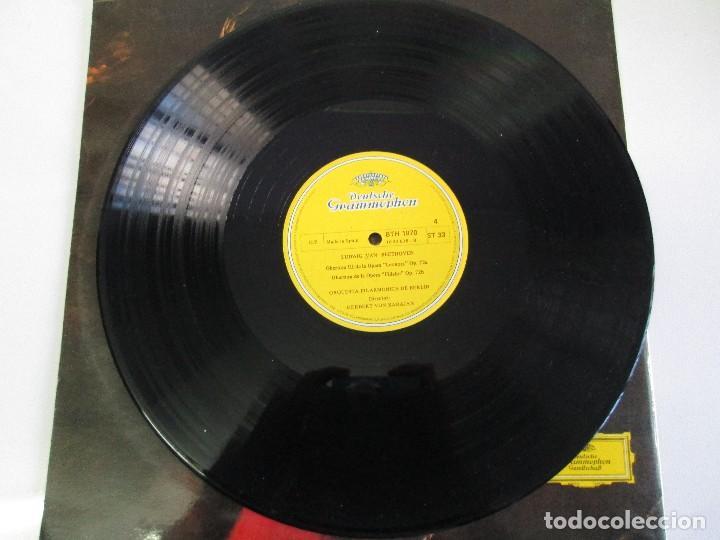 Discos de vinilo: ESPECIAL BICENTENARIO BEETHOVEN. ORQUEST FILARMONICA DE BERLIN.1970 DOS DISCOS DE VINILO.VER FOTOS. - Foto 10 - 78392225