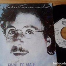 Discos de vinilo: SINGLE (VINILO) DE HILARIO CAMACHO. Lote 78394437