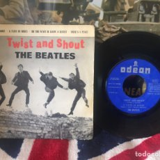 Discos de vinilo: THE BEATLES TWIST AND SHOUT EP. Lote 78413007