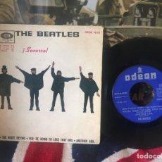 Discos de vinilo: THE BEATLES HELP! EP. Lote 78413745