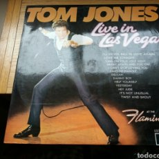 Discos de vinilo: TOM JONES, LIVE IN LAS VEGAS LP 1970 DECCA RECS ESPAÑA.. Lote 78422043