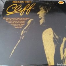 Discos de vinilo: CLIFF RICHARD, ROCK ON WITH CLIFF. 1982 LP.. Lote 78425163