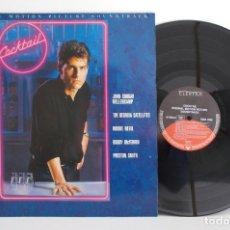 Discos de vinilo: COCKTAIL, LP BANDA SONORA VG++ VG+ (O.S.T.). Lote 78427489