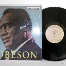 Discos de vinilo: PAUL ROBESON - ROBESON - LP VINYL VANGUARD STEREO VSD-2015 USA 1967 EX EX. Lote 78428693