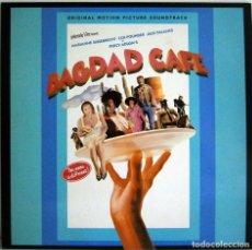 Discos de vinilo: BAGDAD CAFE - BANDA SONORA ORIGINAL - LP VINYL - SPAIN - 1988. Lote 78430325