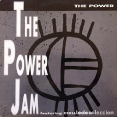 12' MAXI- Power Jam Featuring Chill Rob G – The Power (HIP HOP) ***