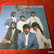Discos de vinilo: READY FOR THE WORLD - READY FOR THE WORLD - LP SPAIN VG+/VG+. Lote 78466881