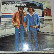 Discos de vinilo: LP. THE ANDERSON BROS. 1978. ZAFIRO. Lote 78511137