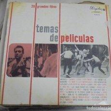 Discos de vinilo: LP. TEMAS DE PELICULAS 28 GRANDES FILMS. AMERICA / CUANDO LLEGUE SEPTIEMBRE / ANA / GIGI. 1967. Lote 78513553