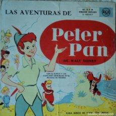 Discos de vinilo: LAS AVENTURAS DE PETER PAN - BSO - EDICIÓN DE ESPAÑA. Lote 78519297