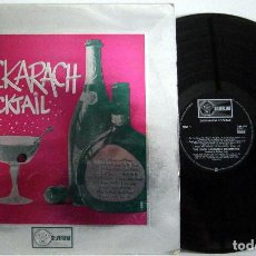 Discos de vinilo: ZACK LAWRENCE AND HIS ORCHESTRA - ZACHARACH COCKTAIL - SILVERLINE VG++ VG+ UK. Lote 78534509
