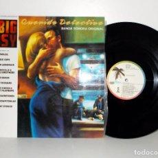 Discos de vinilo: THE BIG EASY - QUERIDO DETECTIVE O.S.T. LP ISLAND 5C208703 SPAIN 1987 EX EX. Lote 78539961