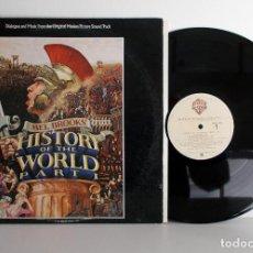 Discos de vinilo: MEL BROOKS - HISTORY OF THE WORLD PART I - LP USA 1981 NM VG+. Lote 78580065