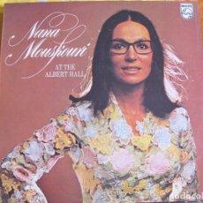 Disques de vinyle: LP - NANA MOUSKOURI - AT THE ALBERT HALL (ENGLAND, DISCOS PHILIPS 1975). Lote 78628641