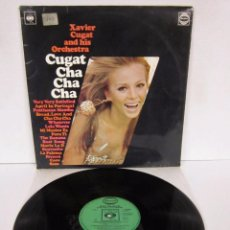 Discos de vinilo: XAVIERCUGAT HIS ORCHESTRA - CUGAT CHA CHA CHA - LP - REALM / CBS 1957 UK 1ª EDICION. Lote 78629969