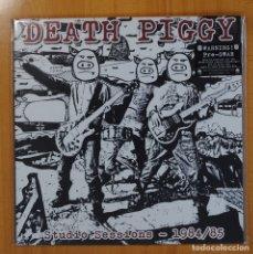 Disques de vinyle: DEATH PIGGY - STUDIO SESSIONS 1984/85 - LP. Lote 78639229