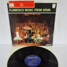 Discos de vinilo: GRUPO FLAMENCO ANTONIO ARENAS - FLAMENCO MUSIC FROM SPAIN - LP - PHILIPS 1965 HOLLAND. Lote 78648221