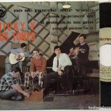 Discos de vinilo: MICKY Y LOS TONYS / NO SE PUEDE SER VAGO / EP 45 RPM / EDITADO NOVOLA 1967. Lote 78663957