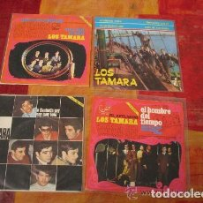 Discos de vinilo: LOTE 3 SINGLE + 1 EP 45 RPM / LOS TAMARA /// EDITADO POR ZAFIRO. Lote 78664673