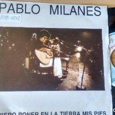 Vinyl-Schallplatten - SINGLE (Vinilo) DE PABLO MILANES AÑOS 80 - 78777497