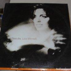 Discos de vinilo: LP. LIZA MINNELLI. RESULTS. 1989. CBS. Lote 78781605