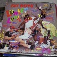 Discos de vinilo: LP. FAT BOYS. LOUIE LOUIE. ALL DAY LOVER. 1988. POLYGRAM RECORDS. Lote 78781777
