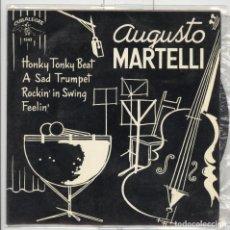Augusto martelli. honky tonky beat. cubalegre 1964. ep
